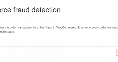WooCommerce Fraud Prevention Tool